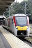 Class 745 003 draws into Ipswich on 1P16 0930 Liverpool Street - Norwich, 28/09/21.