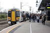 Class 387 102 terminates at Ely on 1T36 1412 Kings Cross - Ely, 10/10/19.