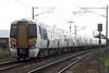 Class 387 102, c/w 387 104, passes Queen Adelaide (Kings Lynn) AHB on 1T41 1444 Kings Lynn - Kings Cross, 16/10/21.