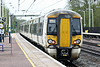 Class 387 106 draws away from Huntingdon on 2P49 1219 Peterborough - Kings Cross, 24/04/18.