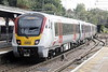 Class 720 571 departs Bishops Stortford on 2H31 1213 Cambridge North - Liverpool Street, 13/10/21.