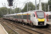 Class 745 002 draws into Ipswich on 1P31 1100 Norwich - Liverpool Street, 28/09/21.