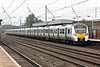 Class 700 147 arrives at Hitchin on 9S19 0924 Cambridge - Brighton, 29/06/21.
