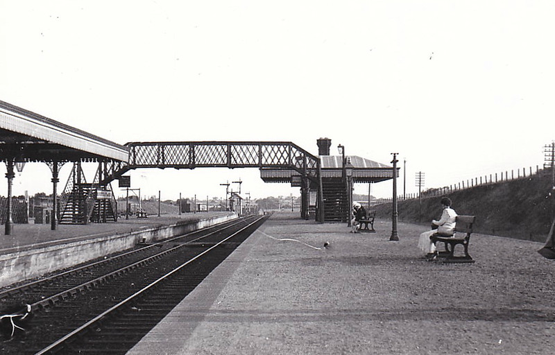 MELTON CONSTABLE - Looking toward East Junction in the 1920's I think.