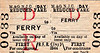 M&GN TICKET - FERRY - Reduced Fare First Day Return - I can't believe that they ever sold any of these. I should think a used one is worth a fortune!