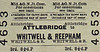 M&GN TICKET - ATTLEBRIDGE - Third Class Single to Whitwell & Reepham - fare 8 1/2d.