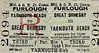 M&GN TICKET - GREAT ORMESBY - Third Class Furlough Return to Yarmouth Beach.