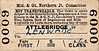 M&GN TICKET - ATTLEBRIDGE - First Class Single to Lenwade, fare 6d - dated November 11th, 1958. As stated elsewhere, I think some of these were bought as souvenirs - I don't see people queuing up to travel 3 miles First Class!