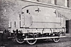 SPALDING & BOURNE RAILWAY - Goods Brake No.1 - This brakevan must have been fairly ancient even when this picture was taken and was presumably preserved or set aside somewhere. The Spalding & Bourne Railway opened in 1866 and was absorbed into the M&GN in 1894 so, if this is a contemporary picture, then it is very early. I've never seen anything quite like it before. The guard certainly couldn't have seen much from the cubby!