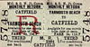 M&GN TICKET - YARMOUTH BEACH - Third Class Monthly Return to Catfield, fare 3s 11d