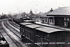 MELTON CONSTABLE - Looking east from the goods yard pre World War Two.