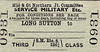 M&GN TICKET - LONG SUTTON - Military Service Third Class Single - I suspect that this ticket would be used by servicemen being posted or travelling on military business, as opposed to going on leave.