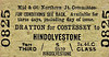 M&GN TICKET - DRAYTON FOR COSTESSEY - Third Class Single to Hindolvestone - fare 2s 4d.