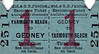 M&GN TICKET - GEDNEY - Third Class Return Day Excursion to Yarmouth Beach - clipped but undated.