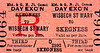 M&GN TICKET - WISBECH ST MARY - Third Class Day Excursion Return to Skegness.