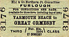 M&GN TICKET - YARMOUTH BEACH to GREAT ORMESBY - Third Class Furlough Single.