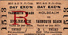 M&GN TICKET - HOLBEACH - Third Class Day Ecxursion to Yarmouth Beach.