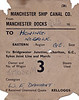MANCHESTER SHIP CANAL CO. WAGON LABEL - MANCHESTER DOCKS to HONING - On February 26th in a year unspecified, Wagon No.M517638 was dispatched from Manchester Docks to Honing (for Worstead) via Bridgewater Junction, Chorlton, the Great Central, Sykes Joint Line and March, consigned to WF Damant. The load is not specified but I suspect that the mention of 'Kelloggs' in the bottom right hand corner gives us a clue!