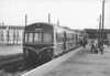 NORWICH CITY - A Class 101 DMU sits in the platform at Norwich City, just arrived from Melton Constable, in August 1958. Maybe DMU's could have saved at least part of the M&GN but, as usual, too little too late.