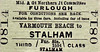 M&GN TICKET - YARMOUTH BEACH - Third Class Furlough Single to Stalham - some treat that!