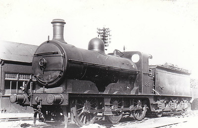 M&GN - 88 - Ivatt M&GN Class Da 0-6-0 - built 10/00 by Dubs & Co., Works No.3940, as M&GN No.88 - 1920 rebuilt - 1936 to LNER Class J3 No.088, 06/46 to LNER No.4163 - BR No.64163 not applied - 01/49 withdrawn - seen here at Melton Constable in May 1934.