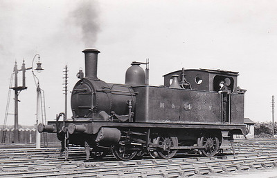 M&GN - 94 - Marriott LNER Class J93 0-6-0T - built 01/04 by Melton Constable Works as M&GN No.2A - 1907 to M& HN No.94, 12/37 to LNER No.094, 08/46 to LNER No.8488 - BR No.68488 not applied - 01/48 withdrawn from 31D South Lynn - seen here at Melton Constable in July 1936.