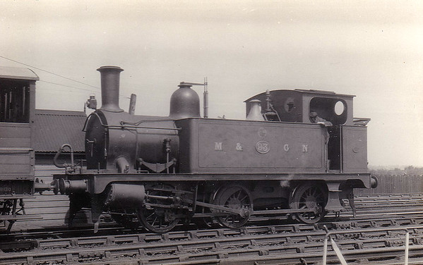 M&GN - 93 - Marriott LNER Class J93 0-6-0T - built 08/1898 by Melton Constable Works as M&GN No.1A - 1907 to M&GN No.93, 12/37 to LNER No.093 - 1922 rebuilt - LNER No.8483 not applied - 06/44 withdrawn from South Lynn MPD - seen here at Melton Constable in June 1929.
