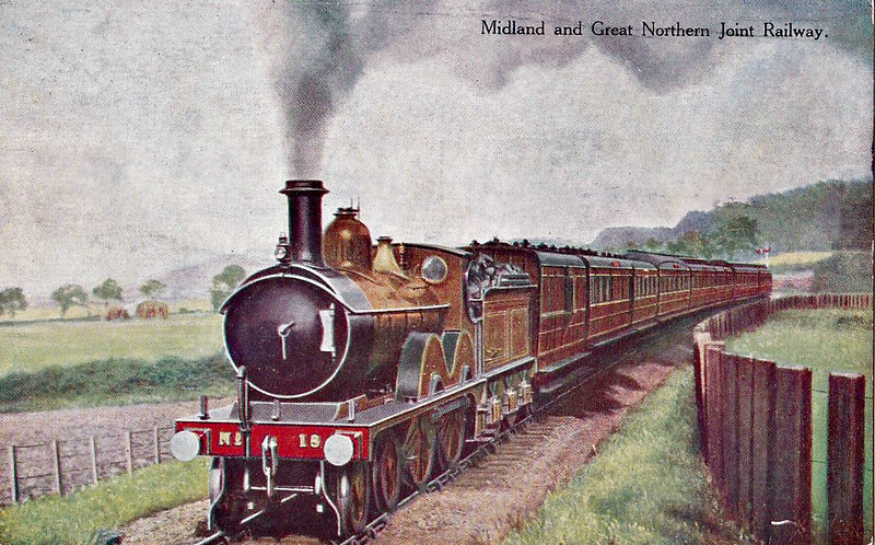 M&GN - 18 - Johnson Class C LNER Class D52 4-4-0 - built 1894 by Sharp Stewart & Co., Works No.4013, as M&GN No.18 - LNER No.018 not applied - 02/37 withdrawn from South Lynn.