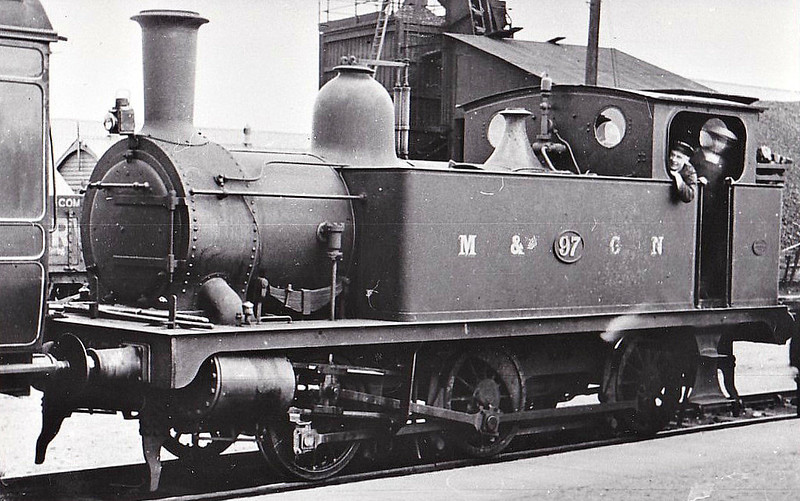 M&GN - 97 - Marriott LNER Class J93 0-6-0T - built 12/02 by Melton Constable Works as M&GN No.97 - 1936 to LNER No.097 - 03/43 withdrawn from 32G Melton Constable.