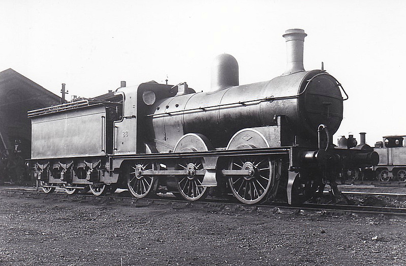 M&GN - 86 - Ivatt M&GN Class Da 0-6-0 - built 10/00 by Dubs & Co., Works No.3938 - 1927 rebuilt - 01/37 to LNER Class J3 No.086, 1946 to LNER No.4161 - 09/47 withdrawn from South Lynn - seen here at Peterborough MPD, 07/26.