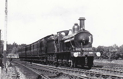M&GN - 66 - Johnson M&GN Class D 2F 0-6-0 - built 03/1899 by Kitson & Co., Works No.3873 - 1921 rebuilt - LNER Class J40 No.066 not applied - 10/37 withdrawn - seen here passing Extons Road Sidings.