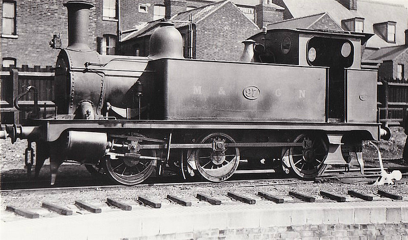 M&GN - 97 - Marriott LNER Class J93 0-6-0T - built 12/02 by Melton Constable Works as M&GN No.12A - 1907 to M&GN No.97, 1936 to LNER No.097 - 03/43 withdrawn from 32G Melton Constable - seen here at Yarmouth Beach, 04/34.