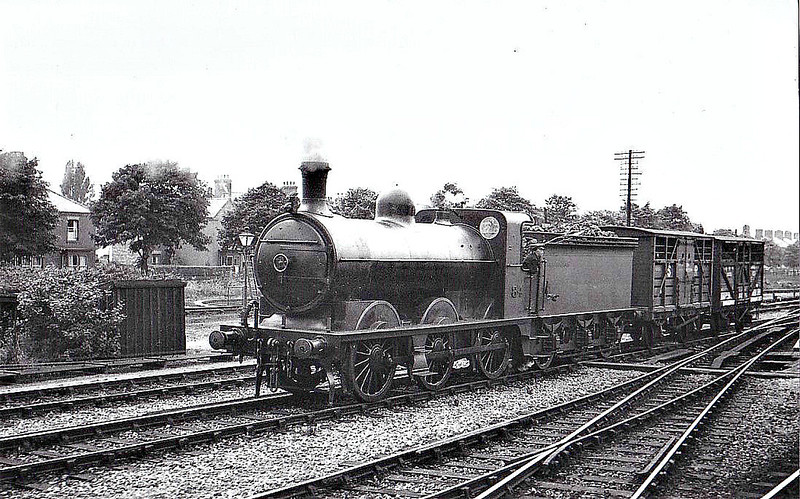 M&GN - 84 - Ivatt M&GN Class Da 0-6-0 - built 1900 by Dubs & Co., Works No.3936 - 1924 rebuilt, 01/37 rebuilt to Class J4 and to LNER No.084, 1946 to LNER No.4159 - 08/47 withdrawn from New England - seen here at Spalding.