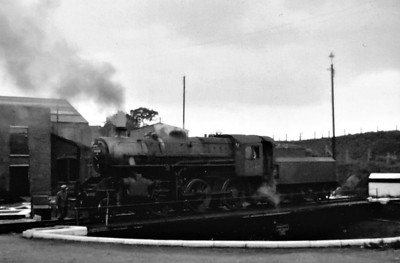 BR - 43148 - BR Ivatt Class 4MT 2-6-0 - built 10/51 by Doncaster Works - withdrawn 04/65 from 41E Staveley - 32G Melton Constable loco from new to 03/59 - seen here at Melton Constable