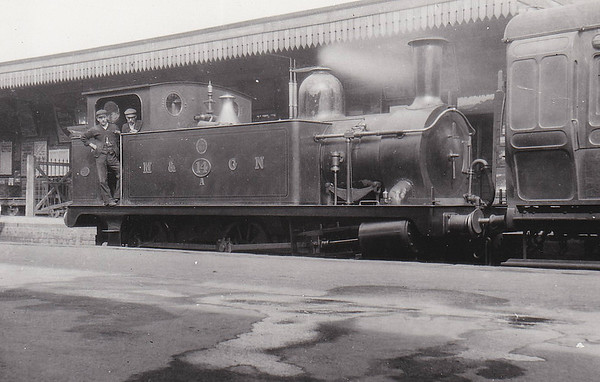 M&GN - 14A - Marriott LNER Class J93 0-6-0T - built 1897 by Melton Constable Works as M&GN No.14A - 1907 to M&GN No.98, 08/37 to LNER No.098, 08/46 to LNER No.8482 - 01/47 withdrawn.