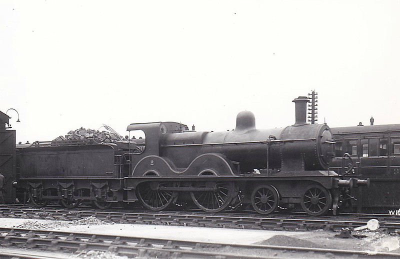 M&GN - 2 - Johnson Class C LNER Class D53 4-4-0 - built 1894 by Sharp Stewart & Co., Works No.4002, as M&GN No.2 - 1910 rebuilt, 1931 rebuilt to Class D53 with Belpaire boiler - 01/37 to LNER No.02 - 05/43 withdrawn from Yarmouth Beach