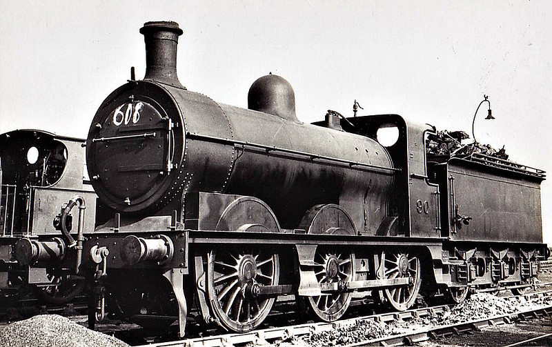 M&GN - 90 - Ivatt M&GN Class Da 0-6-0 - built 10/00 by Dubs & Co., Works No.3942 - 1926 rebuilt, 02/37 to LNER Class J4 No.090 - LNER No.4166 not applied - 07/46 withdrawn - 07/46 withdrawn.