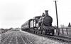M&GN - 23 - Lynn & Fakenham Railway M&GN Class A 4-4-0 - built 1881 by Beyer Peacock Ltd., Works No.2107, as L&FR No.23 - 1936 to LNER No.023 - 02/37 withdrawn - seen here near Long Sutton, 07/36.