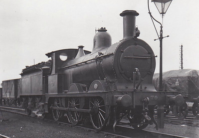 M&GN - 70 - Johnson M&GN Class D LNER Class J40 2F 0-6-0 - built 04/1899 by Kitson & Co., Works No.3877 - 1923 rebuilt - 1936 to LNER No.070 - 1944  withdrawn - seen here at South Lynn in June 1929.