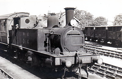 LNER - 016 - Marriott LNER Class J93 0-6-0T - built 05/05 by Melton Constable Works as M&GN No.16 - 1936 to LNER No.016, 12/46 to LNER No.8489 - BR No.68489 not applied - 08/49 withdrawn from 32G Melton Constable.