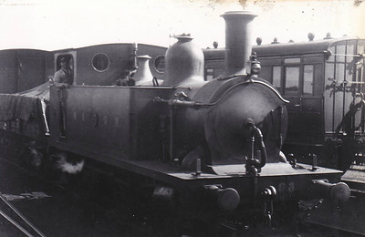 M&GN - 93 - Marriott LNER Class J93 0-6-0T - built 08/1898 by Melton Constable Works as M&GN No.1A - 1907 to M&GN No.93, 12/37 to LNER No.093 - 1922 rebuilt - LNER No.8483 not applied - 06/44 withdrawn from South Lynn MPD - seen here at Melton Constable.