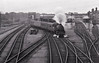BR - 43XXX - An unidentified Ivatt 4MT 2-6-0 departs Spalding with an eastbound train.