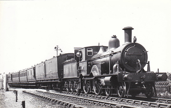 M&GN - 33 - Eastern & Midland Railway M&GN Class A 4-4-0 - built 1888 by Beyer Peacock Ltd., Works No.2940,  as E&MR No.33 - 1934 withdrawn.