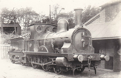M&GN - 3A - Class CM 0-6-0T with tender - built 1874 by Sharp Stewart & Co., Works No.2370, as Cornish Mineral Railways 0-6-0T - 1881 sold to Lynn & Fakenham Railway, fitted with tender supplied by Sharp Stewart & Co - 1891 rebuilt as 2-4-0 - 1894 passed into ownership of M&GNJR, to No.3A - 1899 withdrawn.