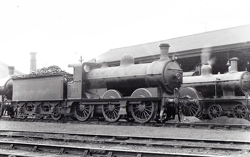 M&GN - 84 - Ivatt M&GN Class Da 0-6-0 - built 1900 by Dubs & Co. - 01/37 rebuilt to Class J4 and to LNER No.084, 1946 to LNER No.4159 - 08/47 withdrawn from New England - seen here at Peterborough, 08/32.