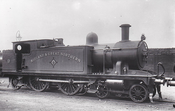 M&GN - 9 - Marriott M&GN Class A LNER Class C17 4-4-2T - built 1909 by Melton Constable Works as M&GN No.9 - 1933 tank tops cut down to improve visibility - 1936 to LNER No.09 - 07/44 withdrawn from Melton Constable.