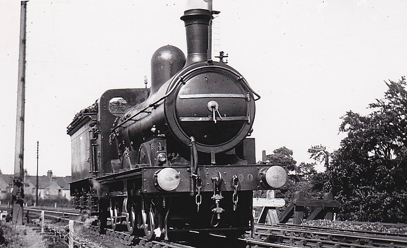M&GN - 90 - Ivatt M&GN Class Da 0-6-0 - built 10/00 by Dubs & Co., Works No.3942 - 1926 rebuilt, 02/37 to LNER Class J4 No.090 - LNER No.4166 not applied - 07/46 withdrawn - seen here at Kings Lynn in 09/10.