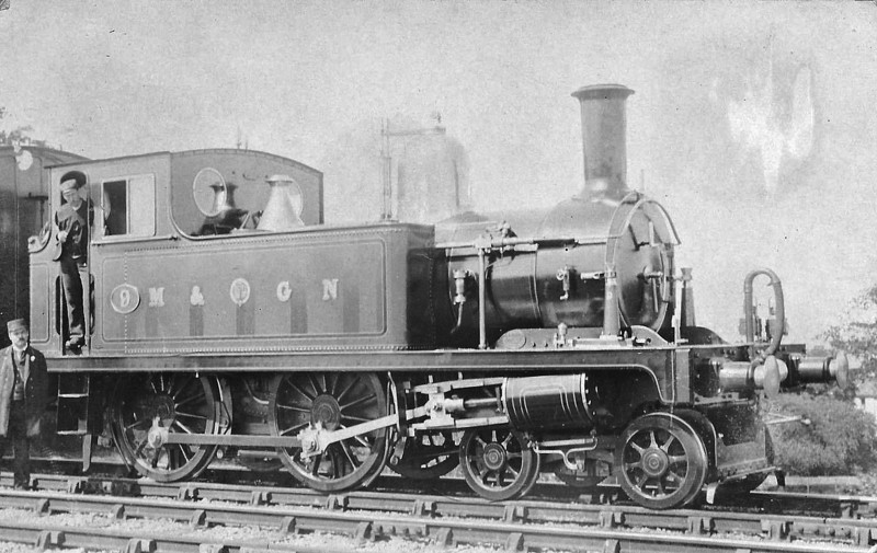 M&GN - 9 - Bromley Lynn & Fakenham Railway 4-4-0T - built 06/1879 by Hudswell Clarke Ltd as L&FR No.9 FAKENHAM - 1909 to M&GN No.9A - 1933 withdrawn - regular engine on the Mundesley branch in later years.