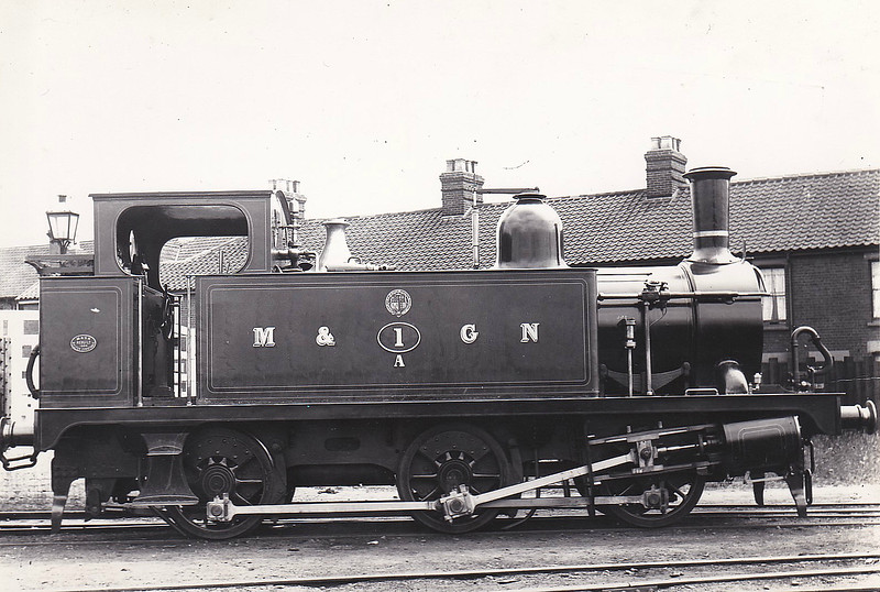M&GN - 1A - Marriott LNER Class J93 0-6-0T - built 08/1898 by Melton Constable Works - 1907 to M&GN No.93, 12/37 to LNER No.093 - 1922 rebuilt - LNER No.8483 not applied - 06/44 withdrawn from South Lynn MPD.
