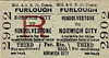 M&GN TICKET - HINDOLVESTONE - Third Class Furlough Return to Norwich City - Station, not Football Club!